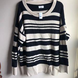 Cozy Striped LOFT Sweater